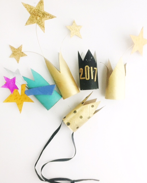 DIY New Year's Eve Crowns 1