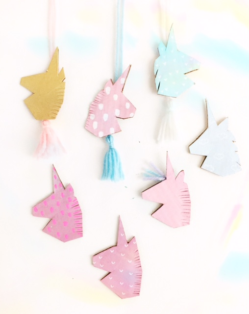 DIY Unicorn Necklace 1