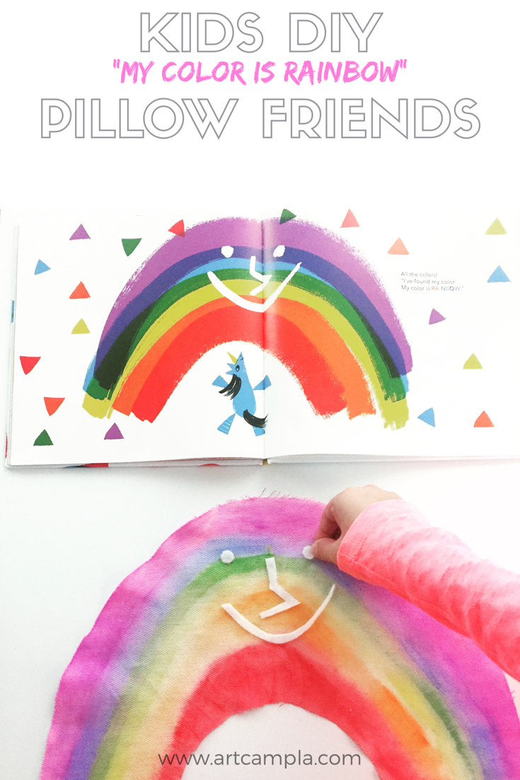 Kids DIY Pillow 10