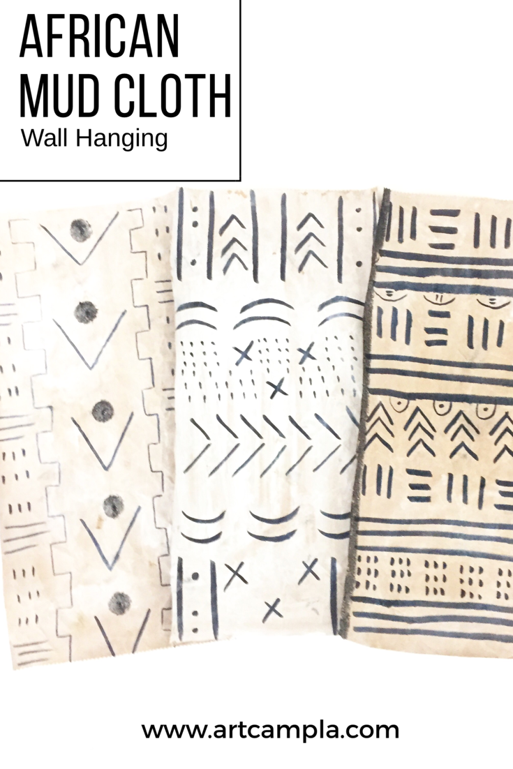 DIY Mud Cloth Wall Hanging 8