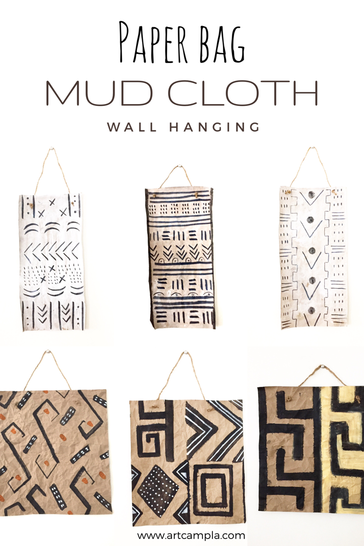 DIY Mud Cloth Wall Hanging 7