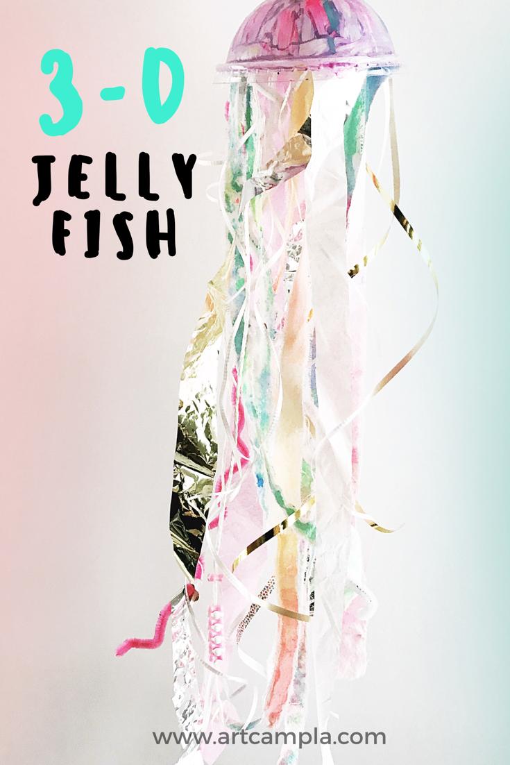 3-D Jellyfish 8