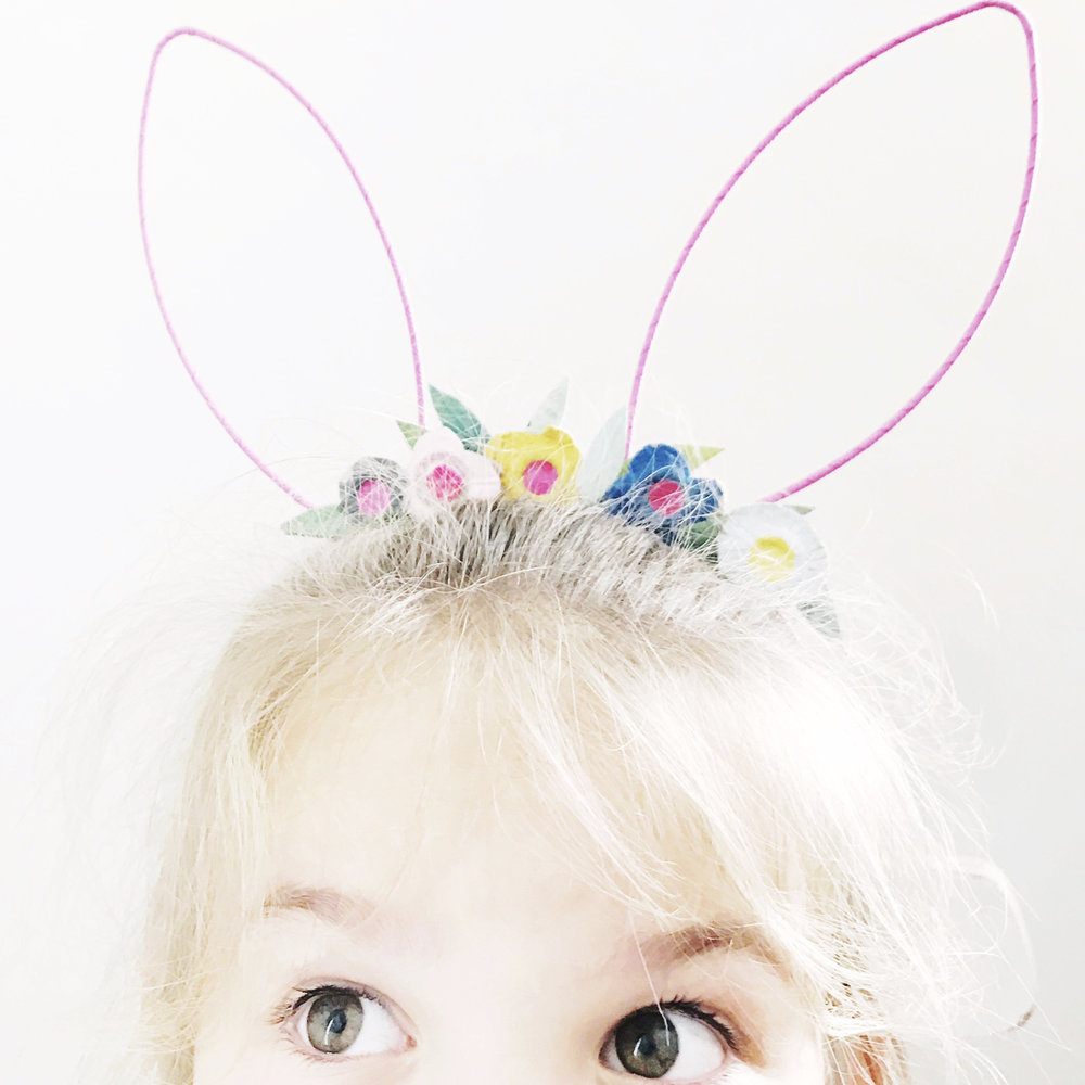 Flower Crown Bunny Ears 9