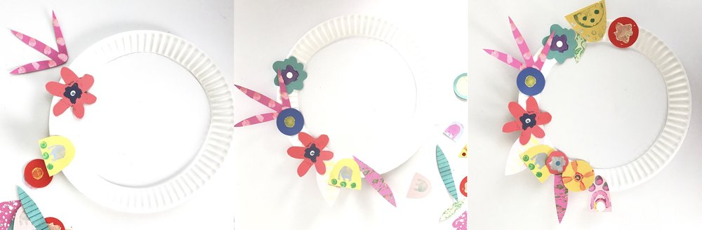 Paper Wildflower Wreath 11