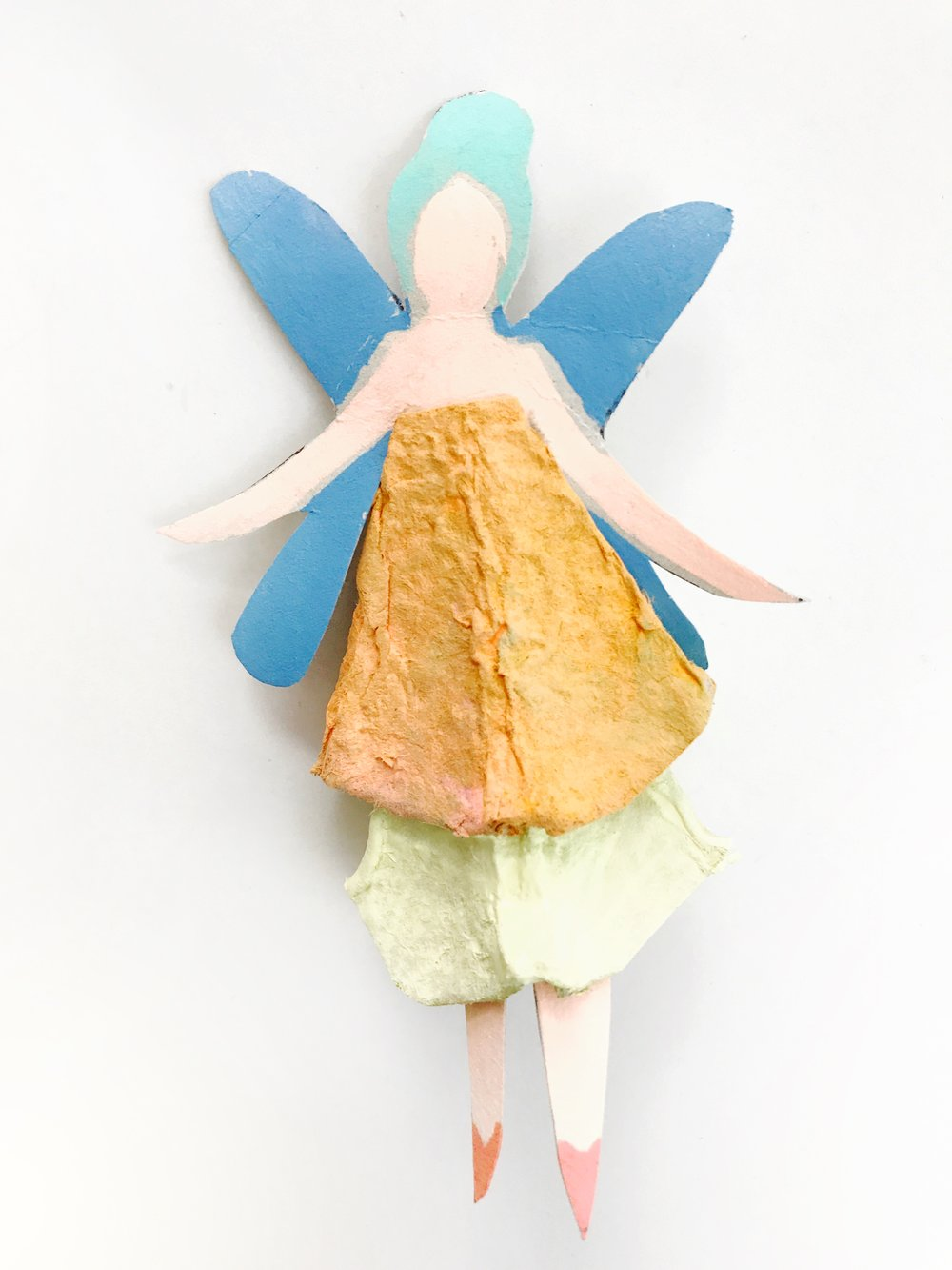 Egg Carton Fairy Dolls 8