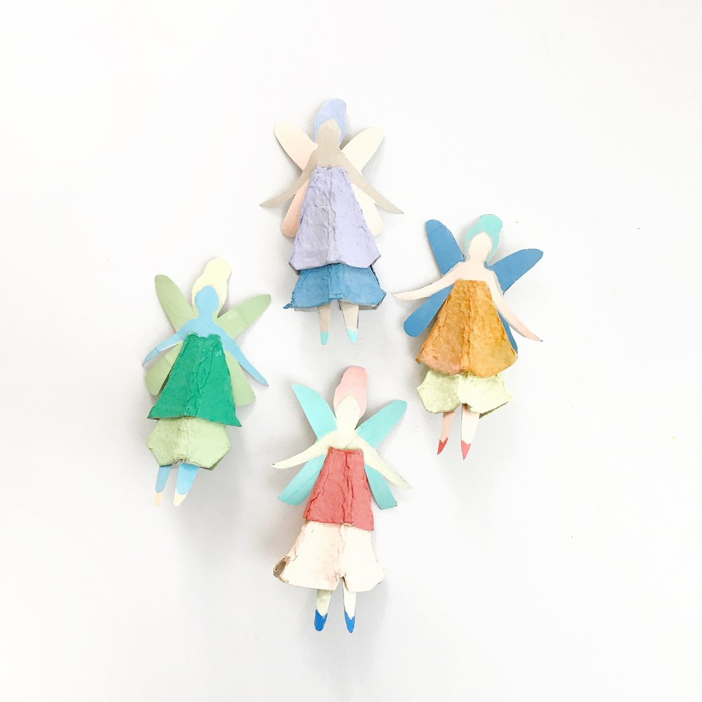 Egg Carton Fairy Dolls 10