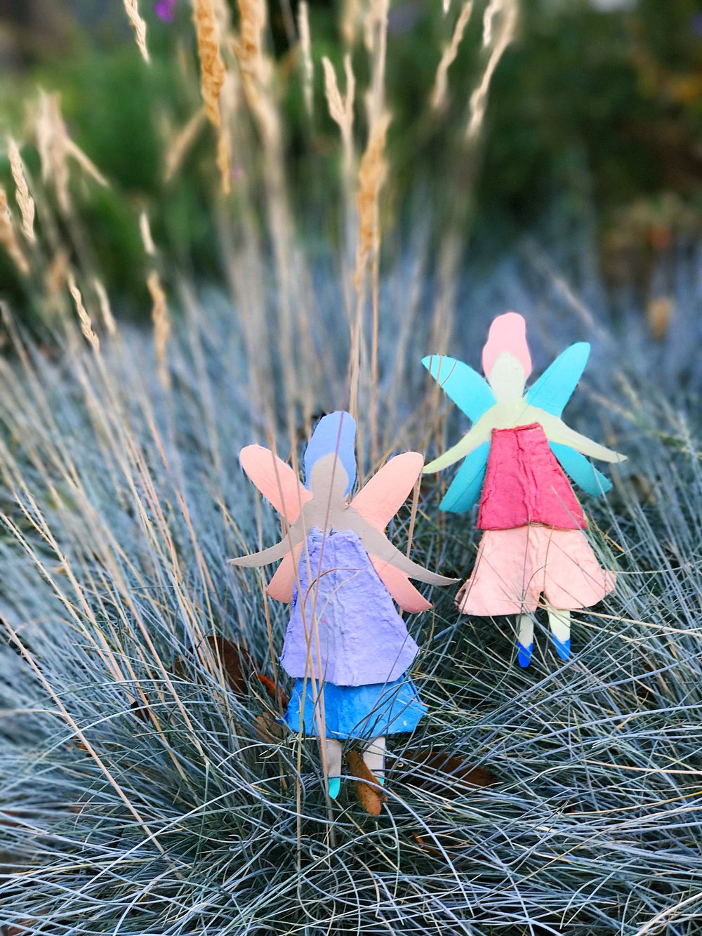 Egg Carton Fairy Dolls 13