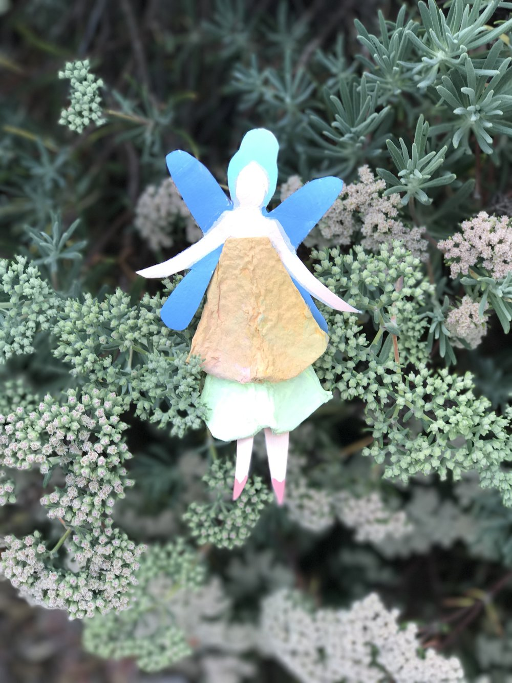 Egg Carton Fairy Dolls 14