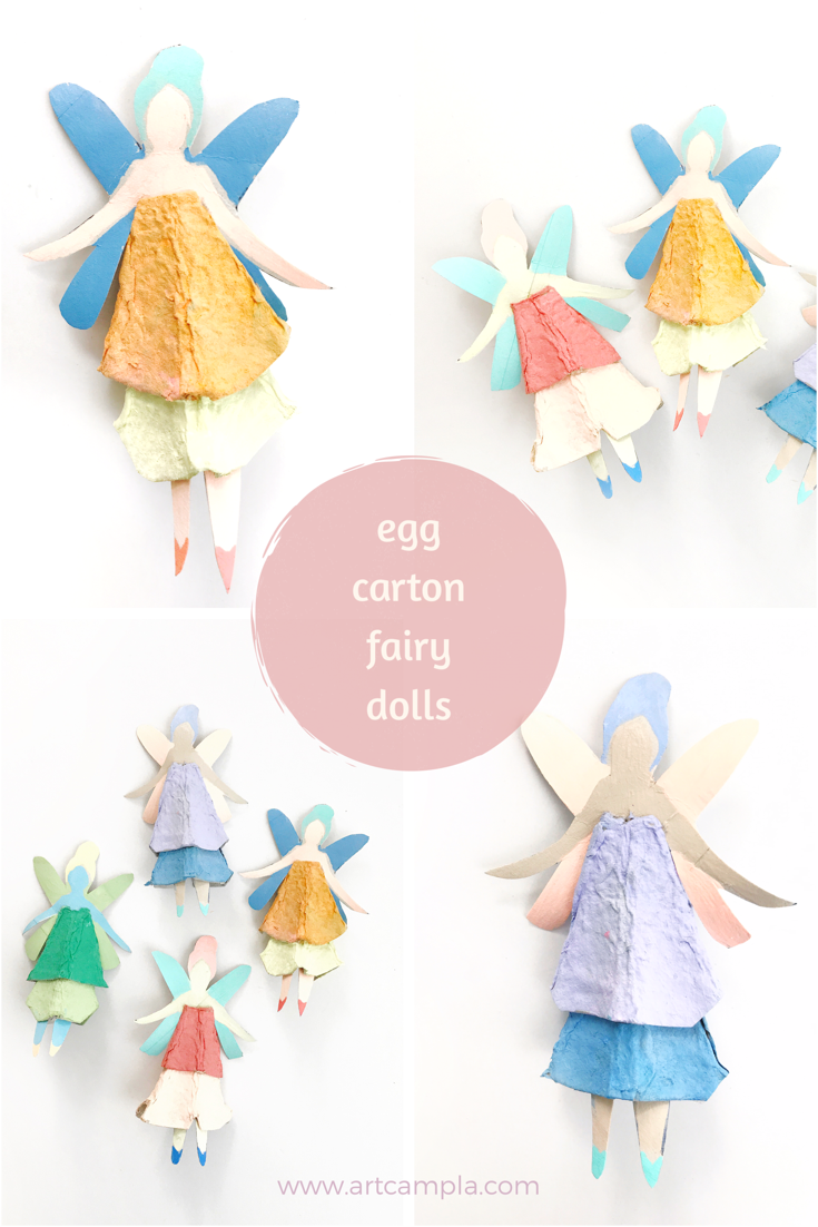 Egg Carton Fairy Dolls 15