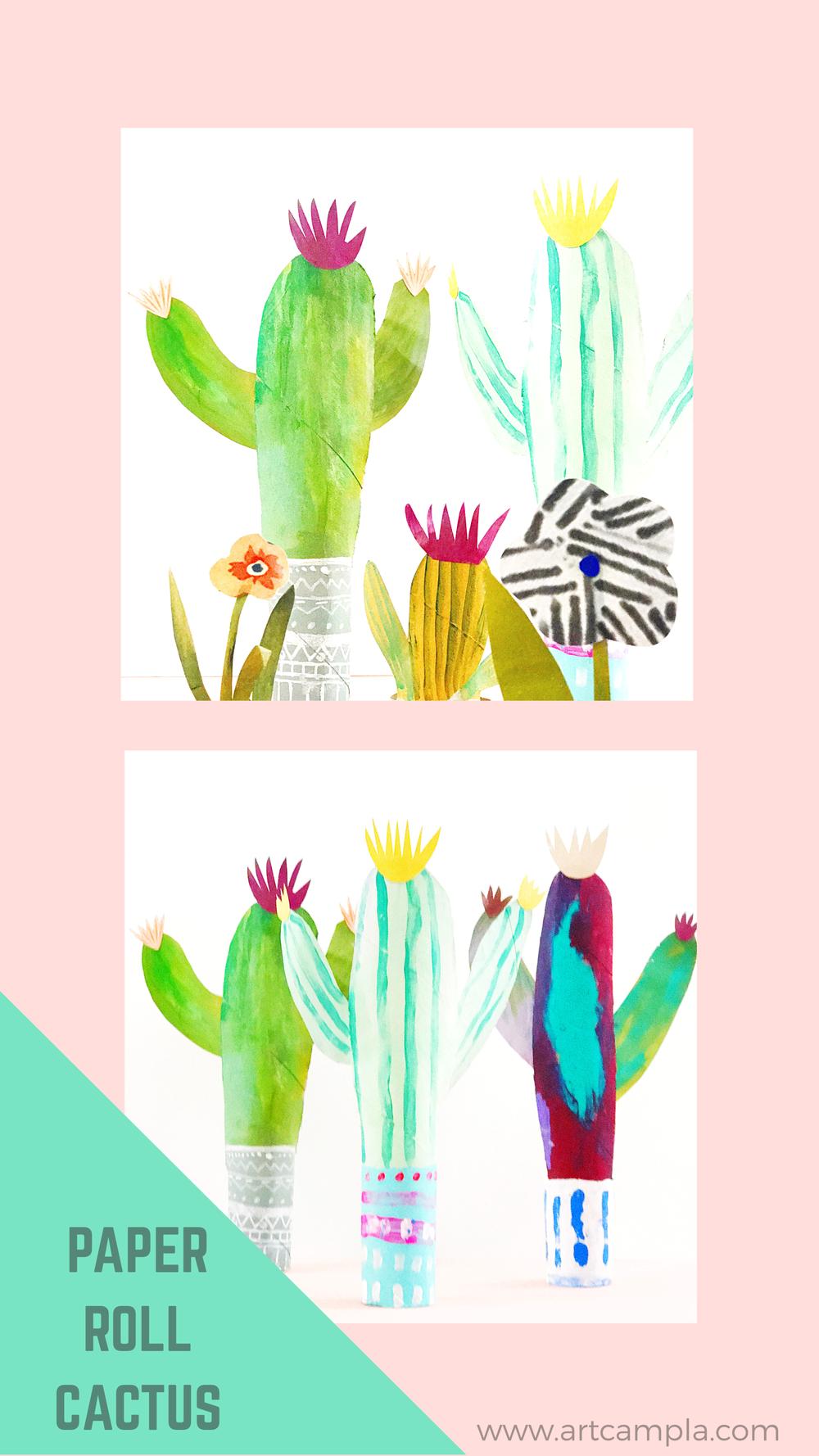 Paper Roll Cactus 7