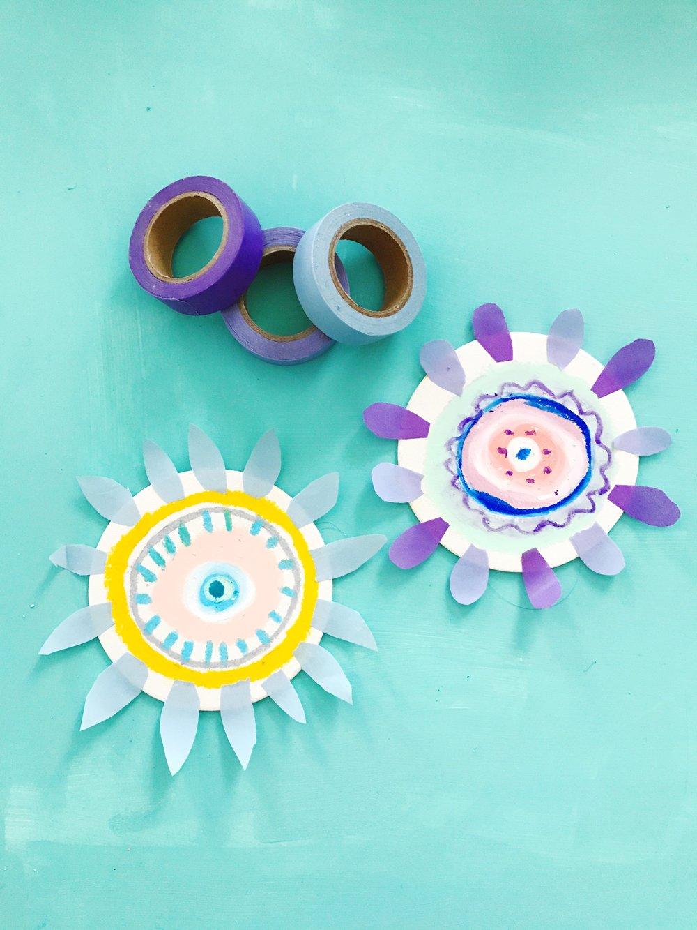 Sun Flower Puppet 6