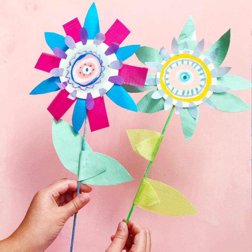 Sun Flower Puppet 16