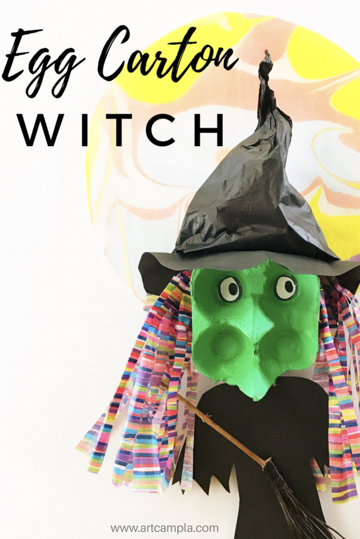 Egg Carton Witch