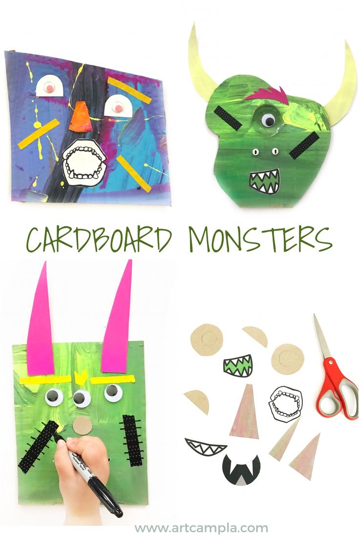 Mixed Media Monsters