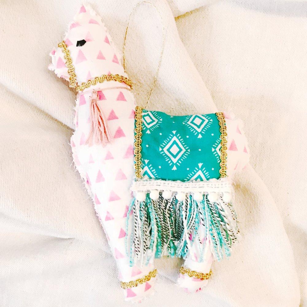 DIY Llama Softie