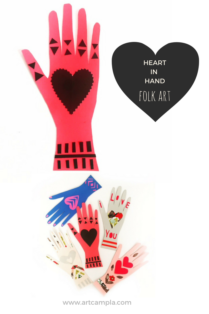 HEART IN HAND VALENTINE
