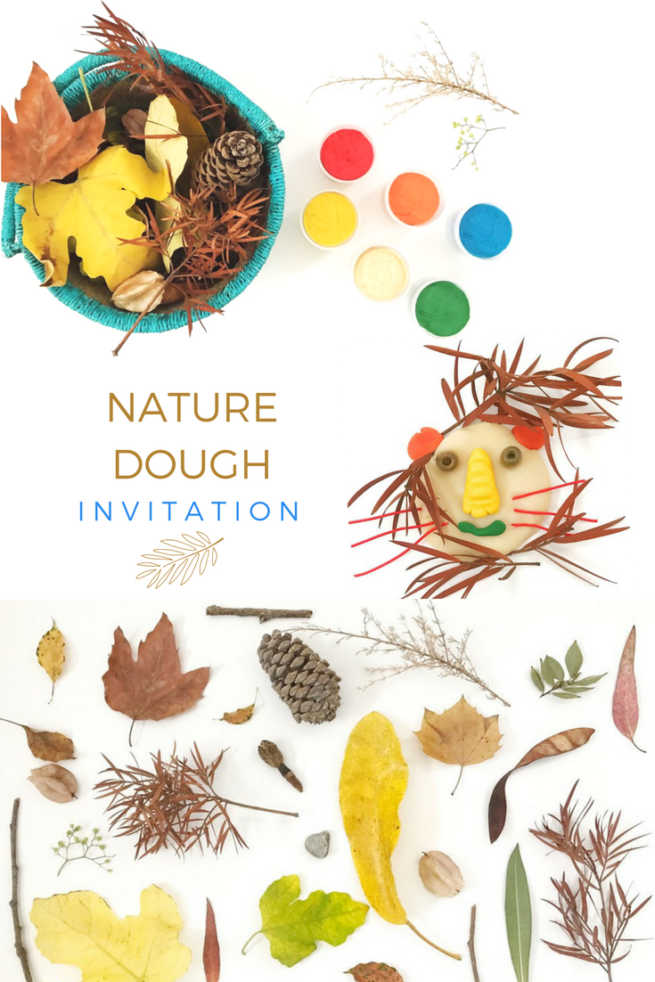 Art invitation: Nature + Eco Dough
