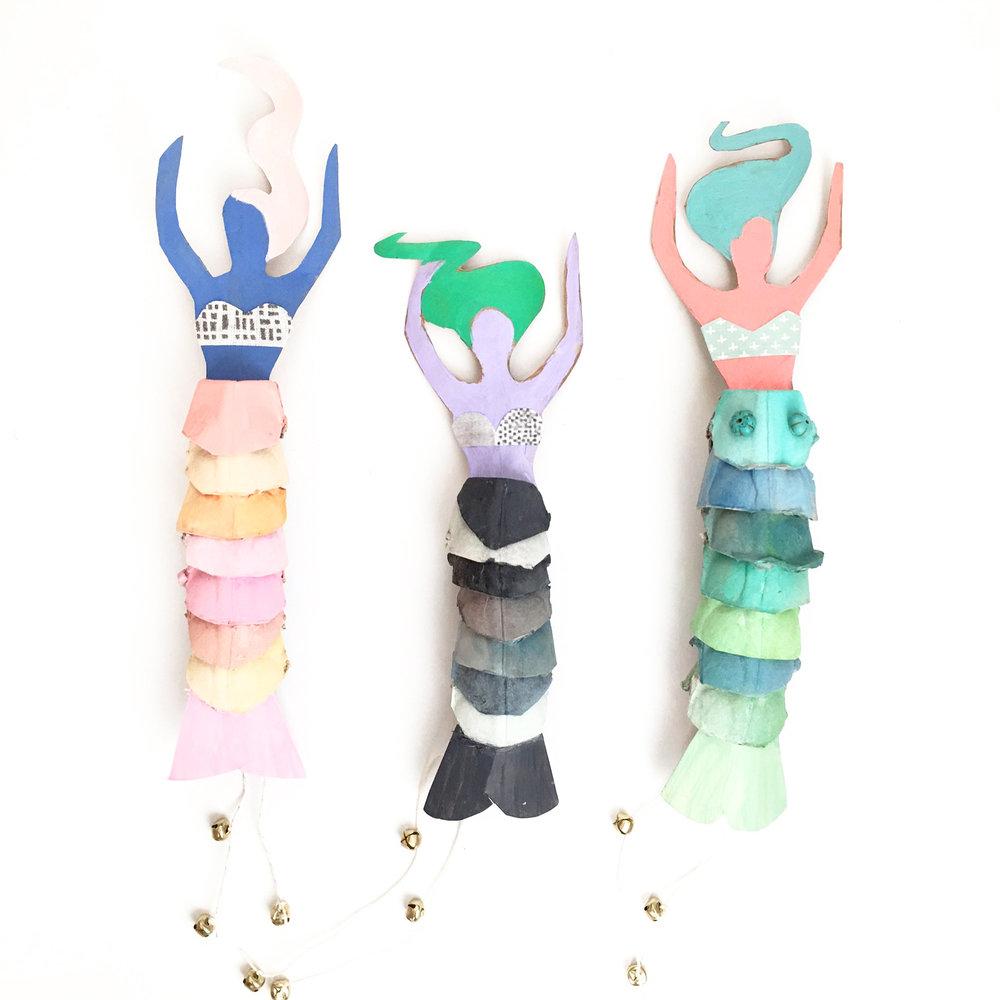Mermaid Doll Templates — ART CAMP