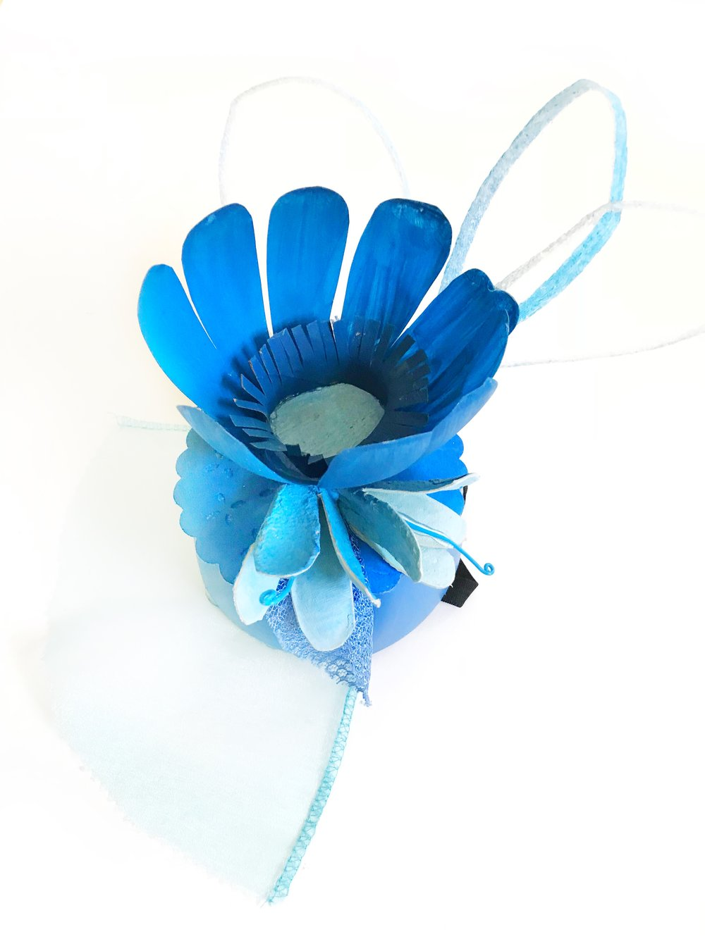 DIY Up-Cycled Fascinator