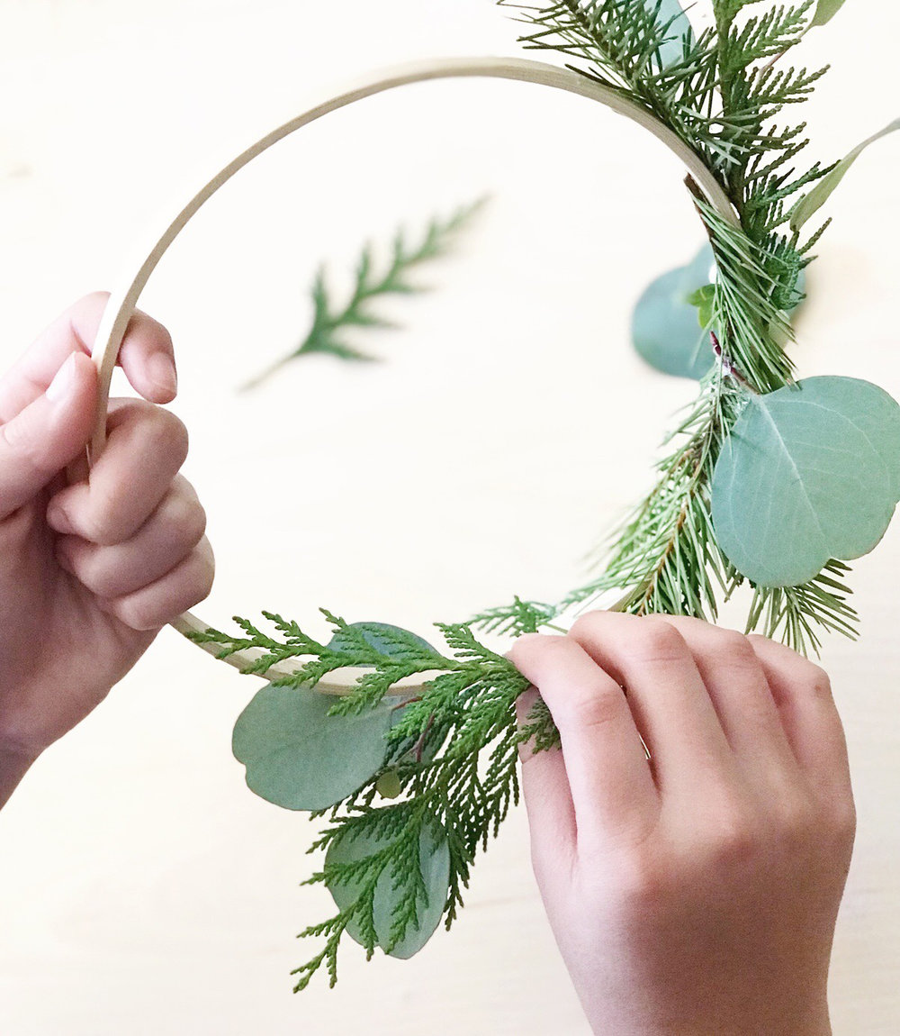DIY 3 Tier Chandelier Wreath