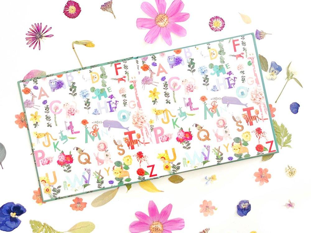 Art Extension for Gina Vide's ABC Flower Safari Book