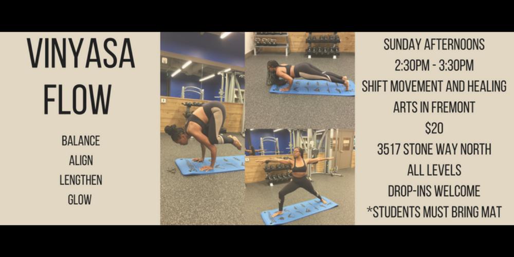 Vinyasa Flow, Flow, Yoga, Seattle, Fremont, Personal Development, Personal Growth, Coach, Seattle Life Coach, Empowerment Coach, Seattle Yoga, Black Yoga Teachers