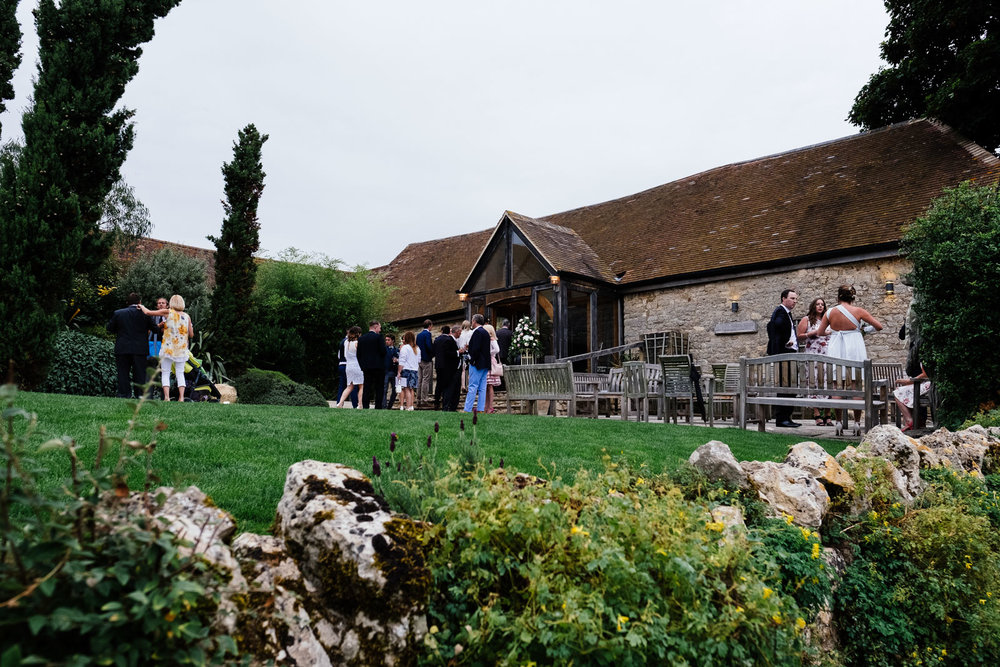 Notley Tythe Barn Wedding Venue, Buckinghamshire. Photo by Sam and Steve Photography