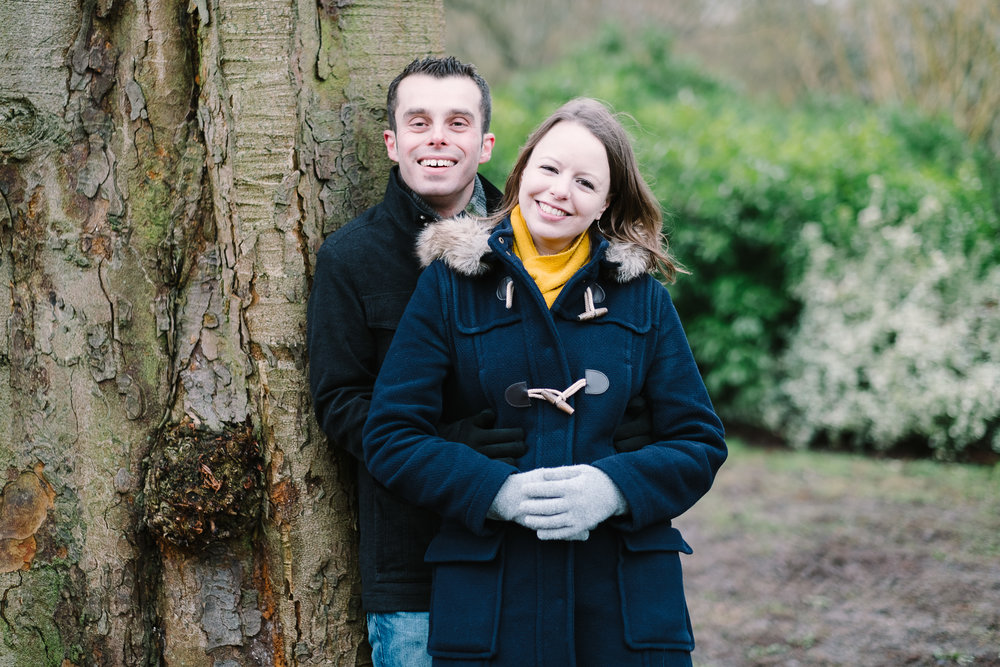 Engagement shoot Charlie and Peter, Oxford, Feb 2017