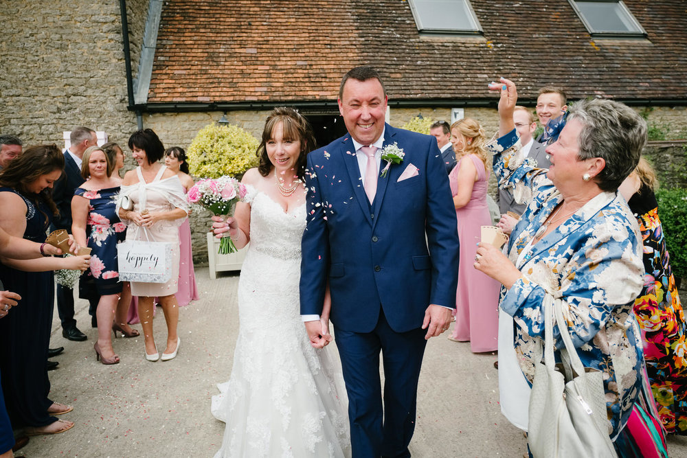 The Wedding of Paula and Andy at Stratton Court Barn, Bicester