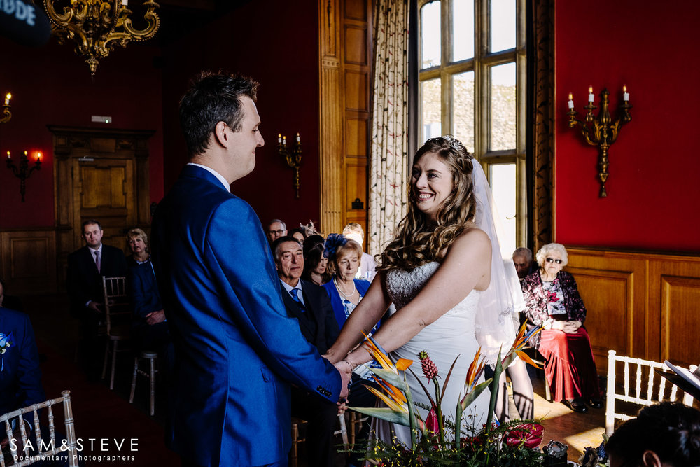 Eynsham Hall Wedding Photography of Lisa and Ash's wedding by Sam and Steve Photography