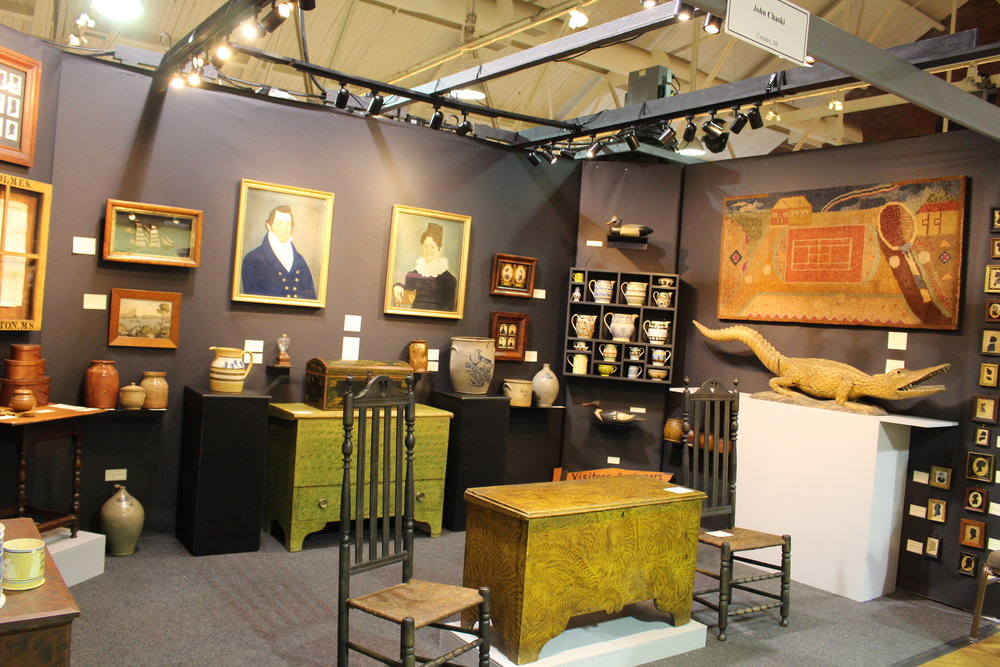 New Hampshire Antiques Show, 2014.