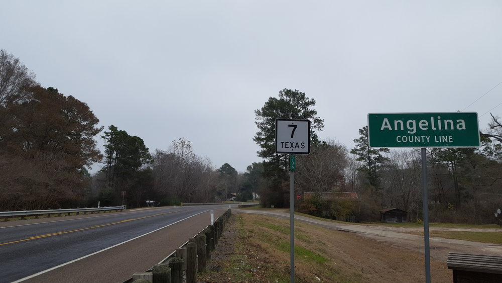 Lucky number Texas Highway 7.