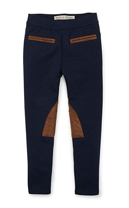 Hope & Henry Girl's Ponte Riding Pants