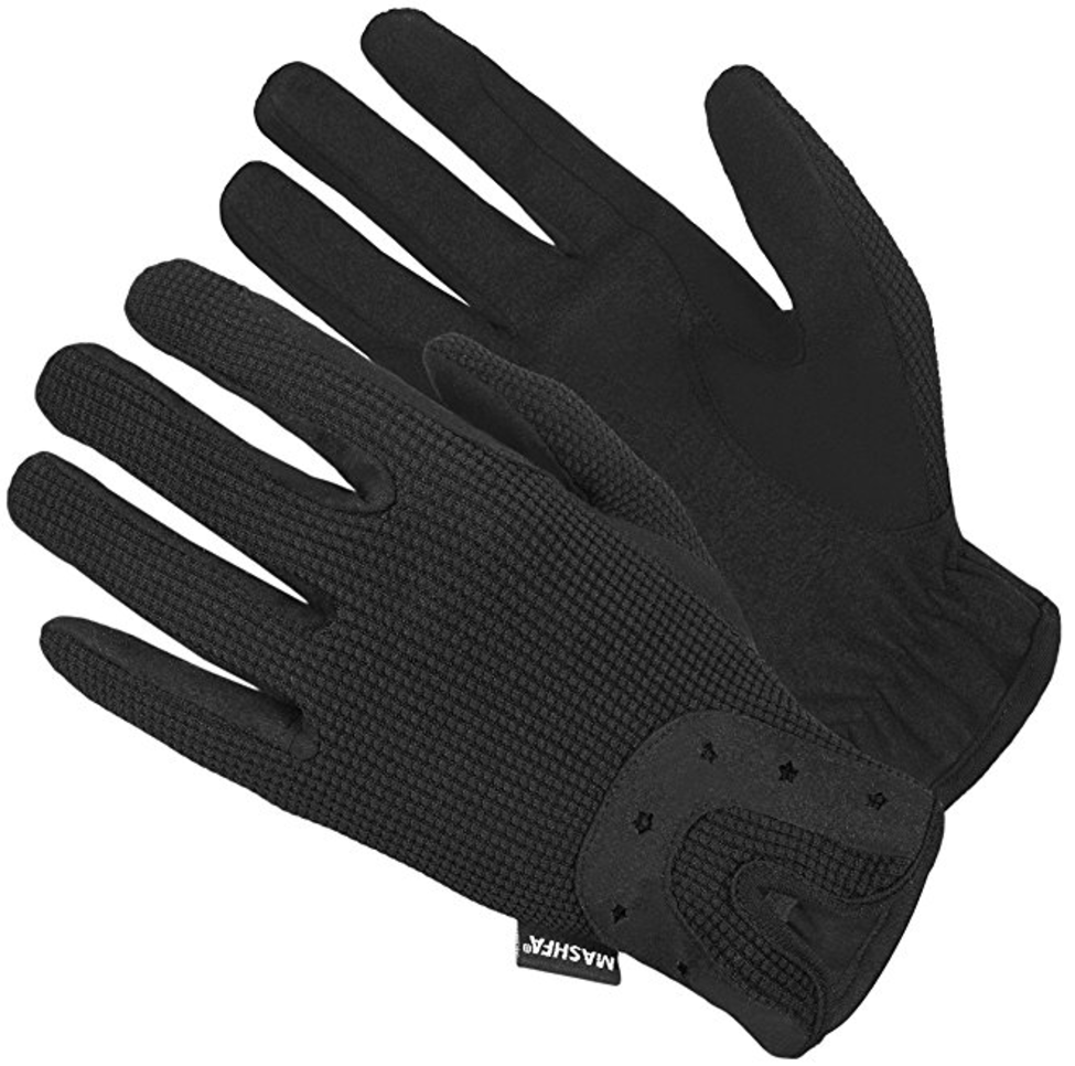 Mashfa Ladies Women Horse Gloves