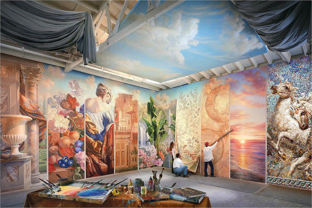 Mural Arts studio