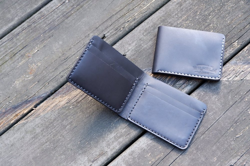 Wilhelm Seam   Small batch leather goods hand sewn the hard way in the USA   Shop Now