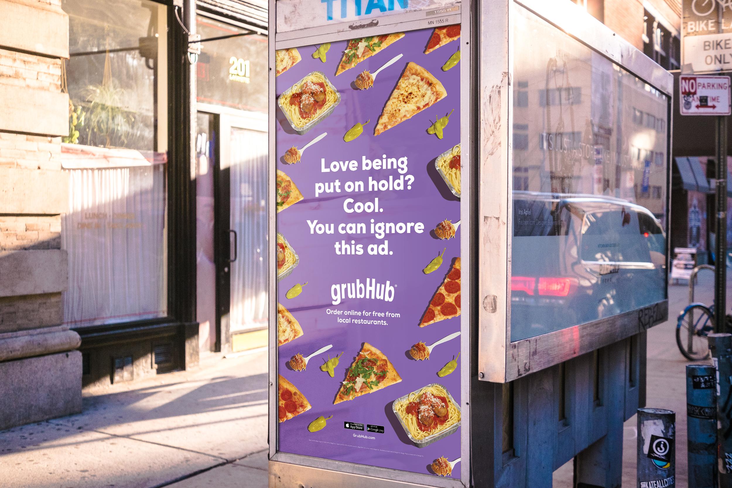 Image result for grubhub poster