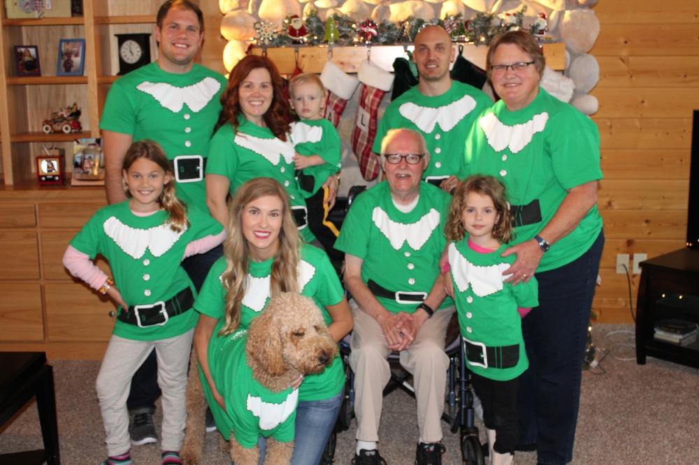 Christmas with Nolan's family