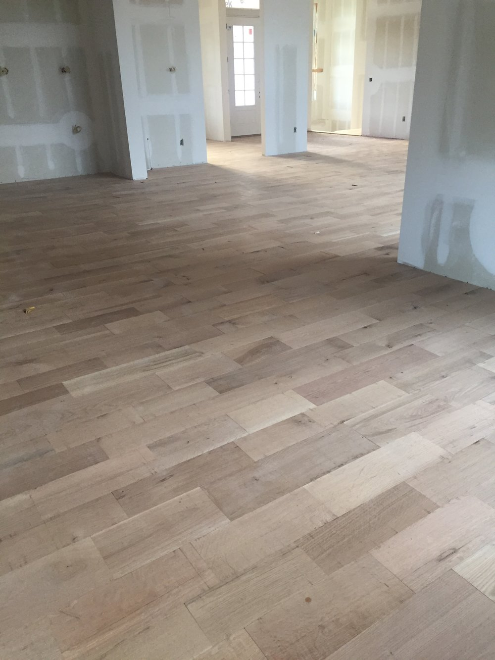 Wide plank European White Oak