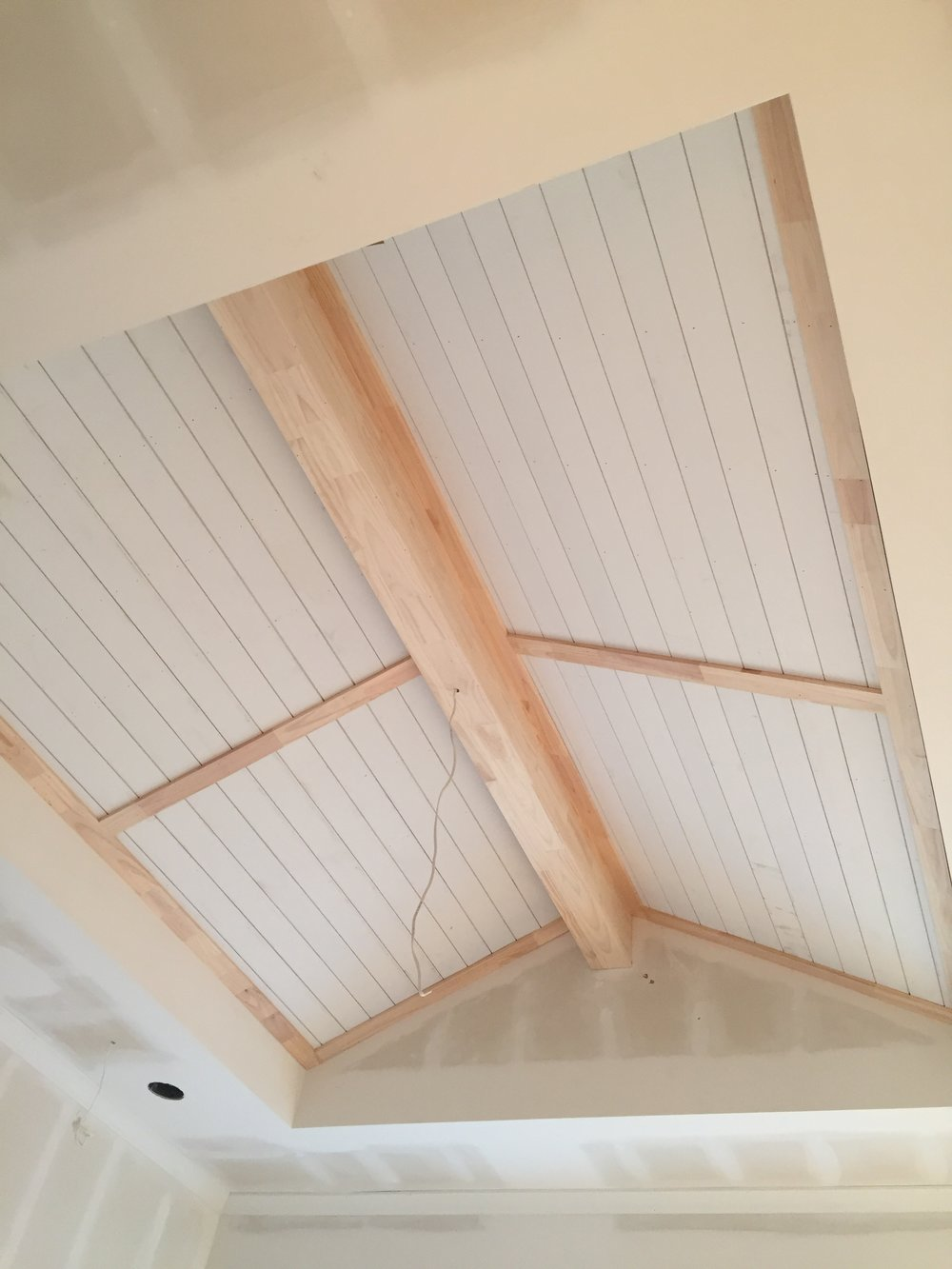 Master bedroom ceiling detail