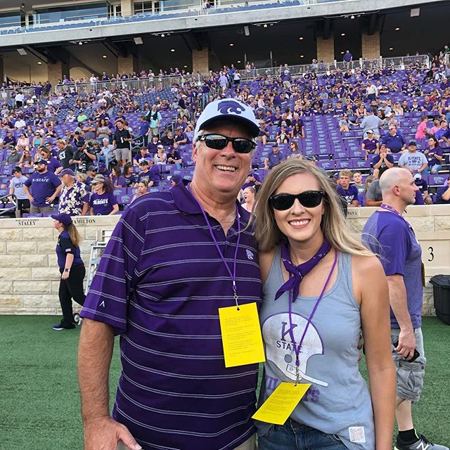 It's officially football season! #kstategameday #gostate #emaw