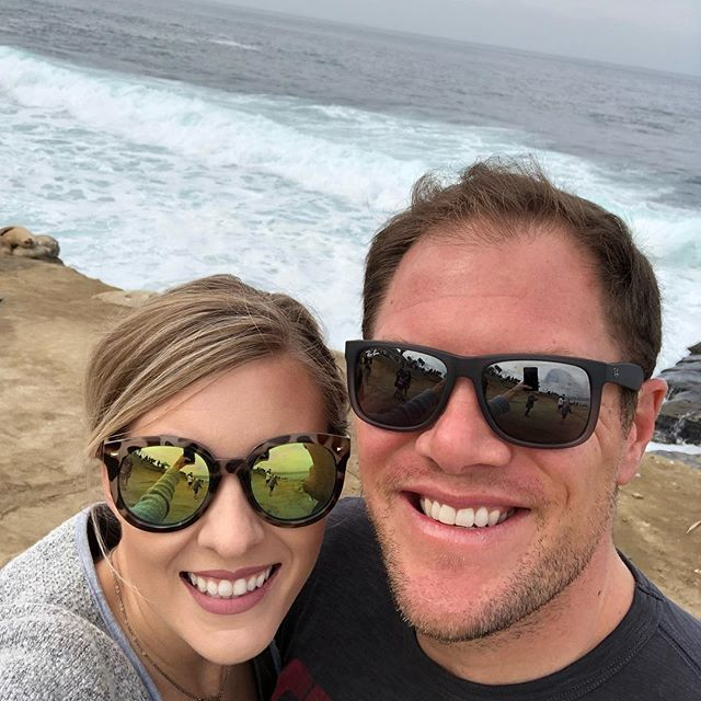 California with my sweetie! Loved all the sea lion watching in their natural habitat at La Jolla Cove! (Swipe left)
