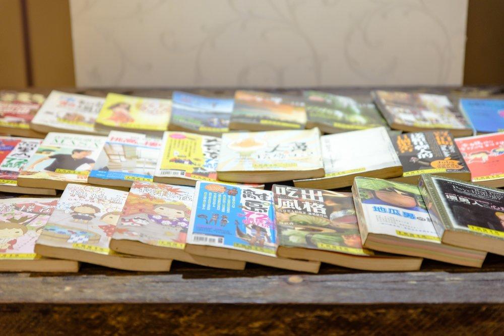 閱讀交誼廳 - 免費使用