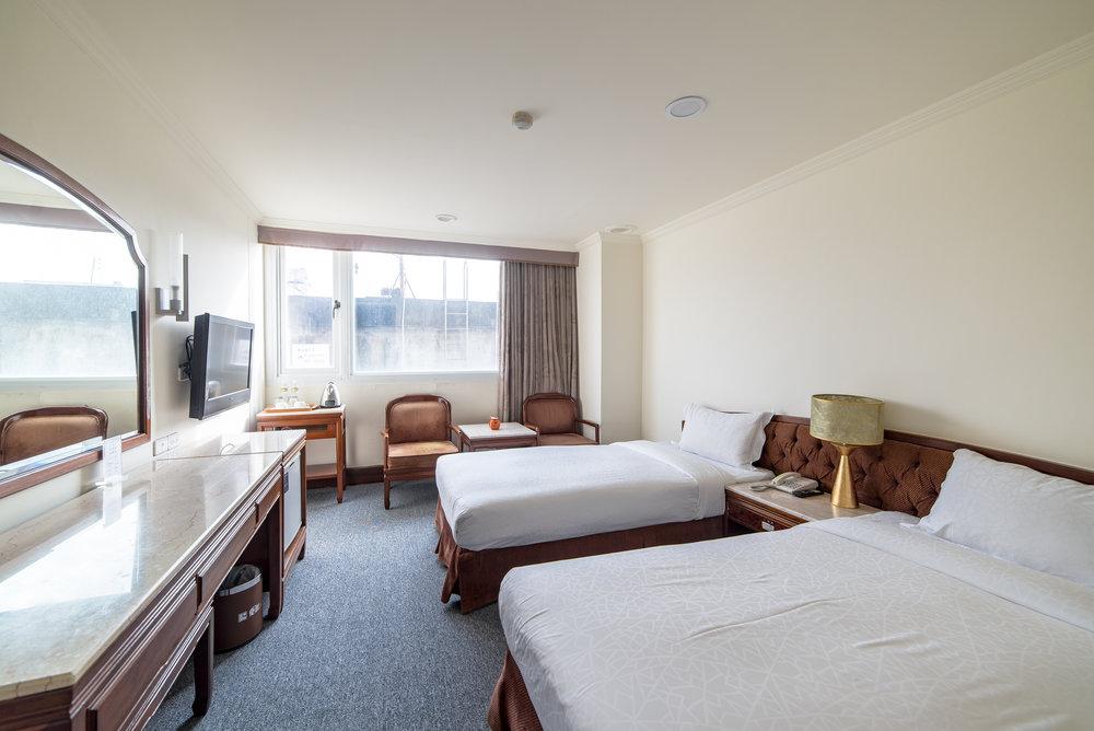 精緻雙人房 - 單人床 x 2入住 2人17-20平方米