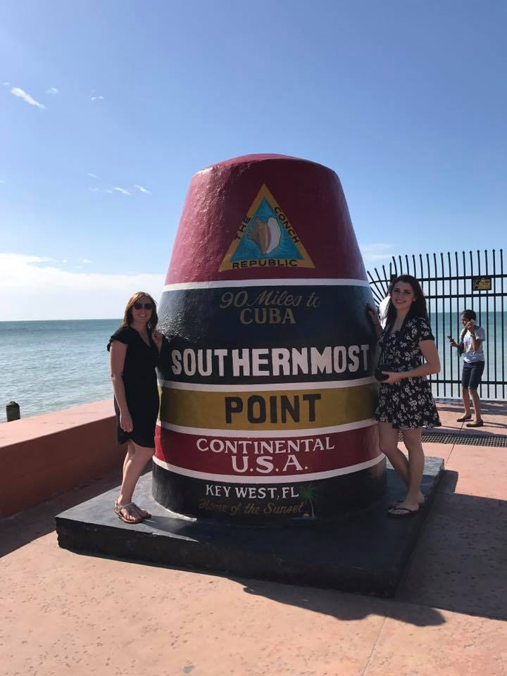 The southernmost Point of the Continental US!