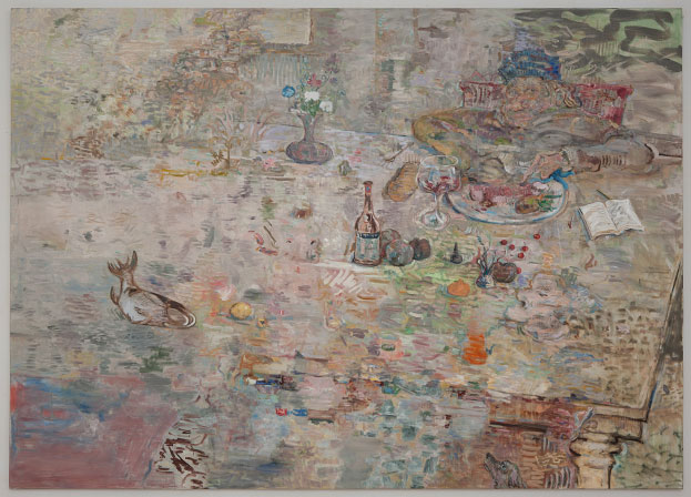 "David Scher // ""Untitled"" // 2010 // Oil on Linen // 60x84 Inches"