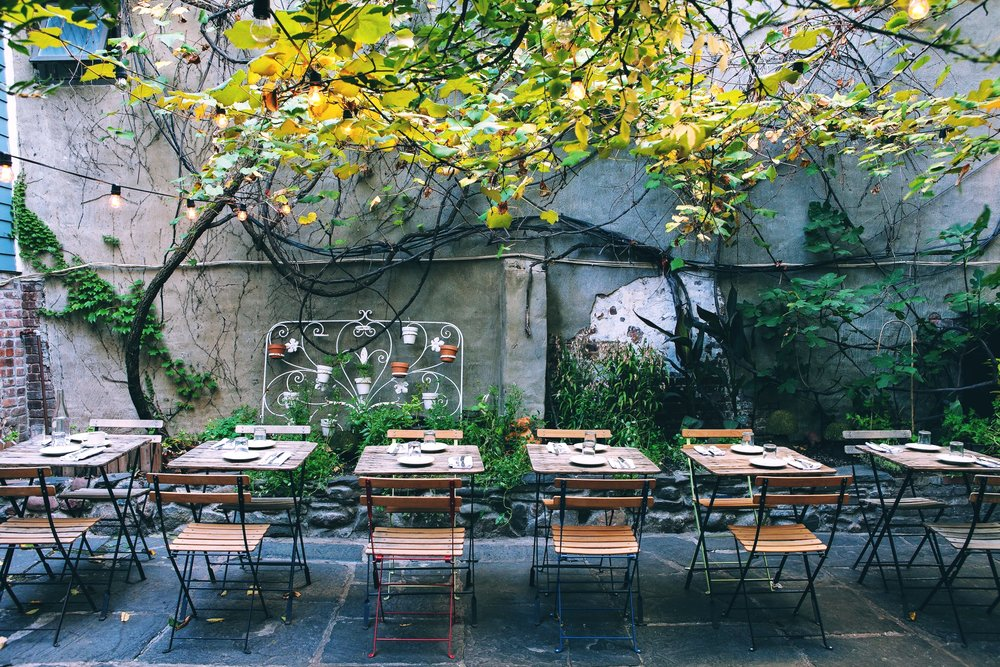Vinegar Hill House's Back Yard