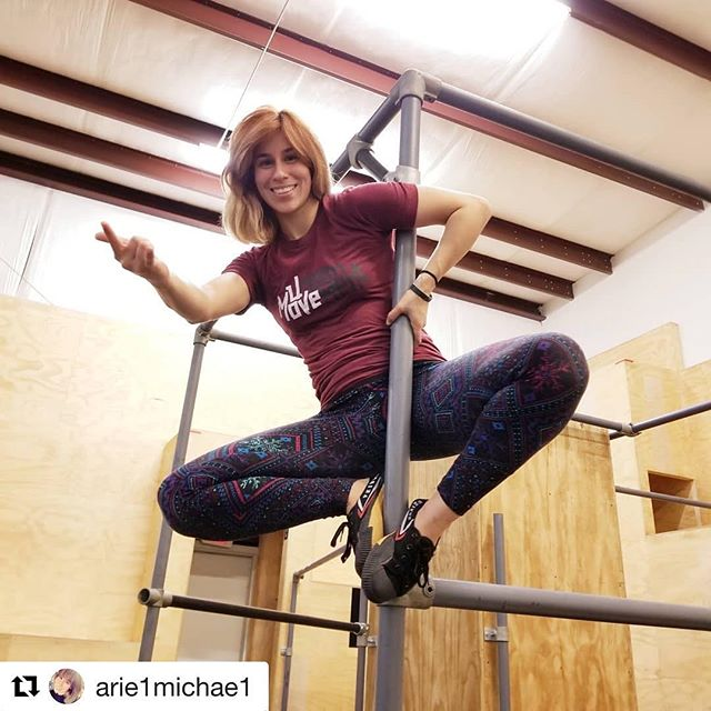Check her out unleashing her inner super hero. Come unlock the hero within at Urban Movement. Classes, camps, private events, open gym and more. @arie1michae1 #mindfulness #community #movementculture