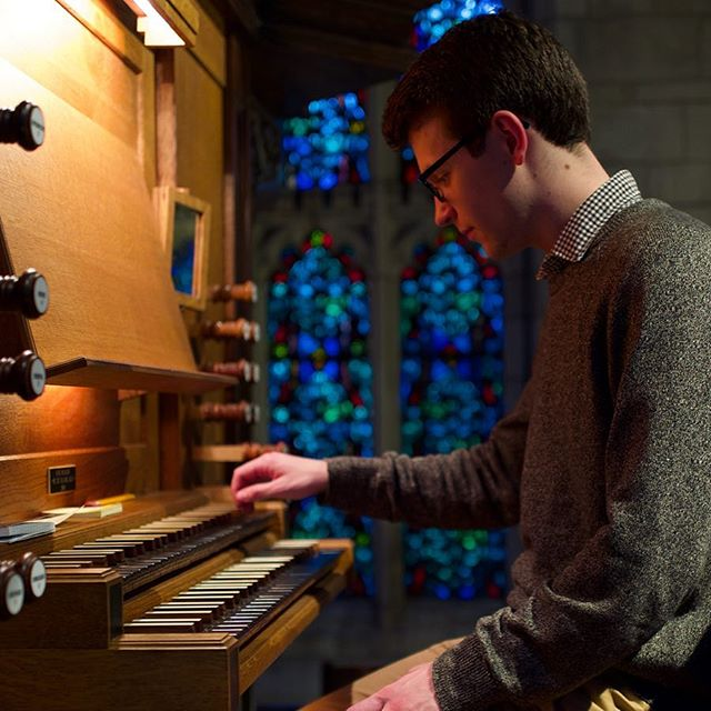 We're back with a new video featuring the Organ Scholar at @uchicago. Link in bio. #analog #organmusic #JSBach #ofquillalchemy