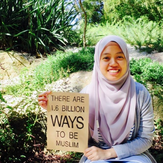 Being a Muslim means encouraging each other to do good and prevent evil so that this world will be a better place. - Aisha